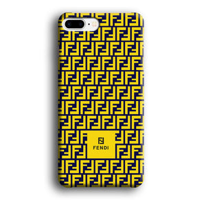 Fendi Box Scheme iPhone 7 Plus 3D coque custodia fundas