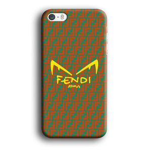 Fendi Eye of Rome iPhone 5 | 5s 3D coque custodia fundas