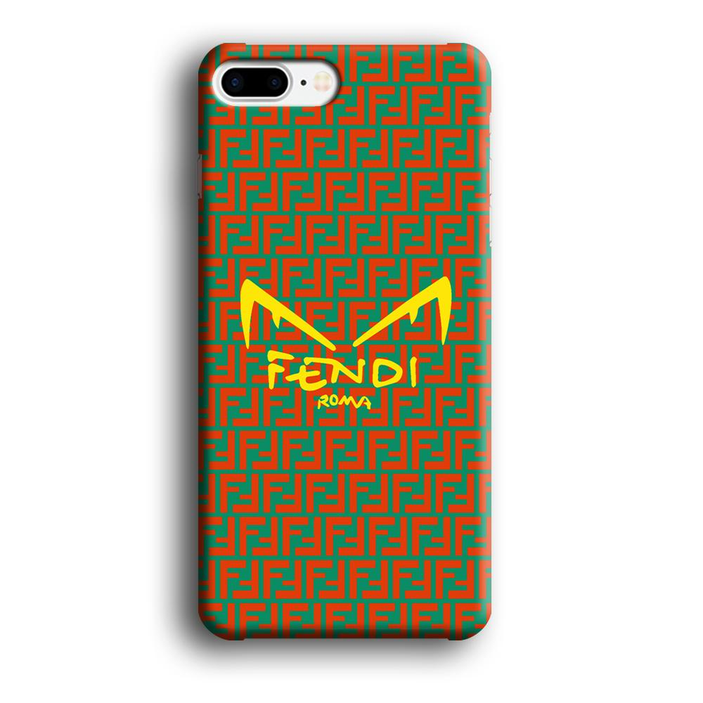 Fendi Eye of Rome iPhone 7 Plus 3D coque custodia fundas