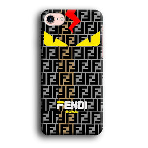 Fendi Monster Eye Bold iPhone 7 3D coque custodia fundas