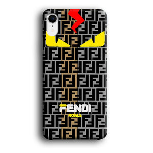 Fendi Monster Eye Bold iPhone XR 3D coque custodia fundas