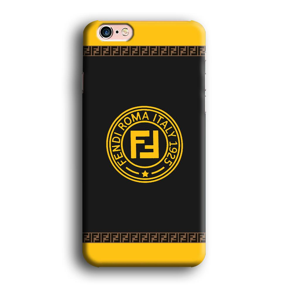 Fendi Ring in Heritage iPhone 6 Plus | 6s Plus 3D coque custodia fundas