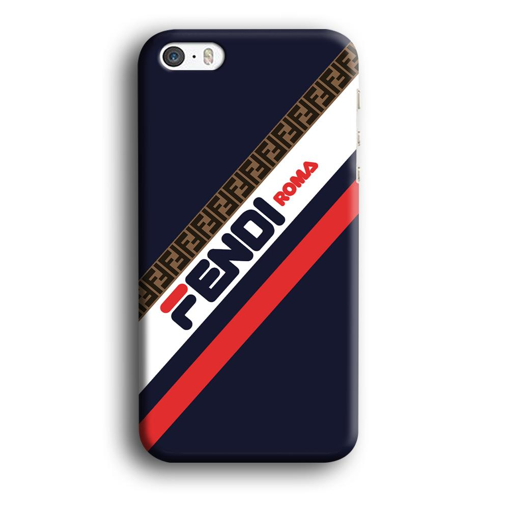 Fendi Stripe Mania iPhone 5 | 5s 3D coque custodia fundas