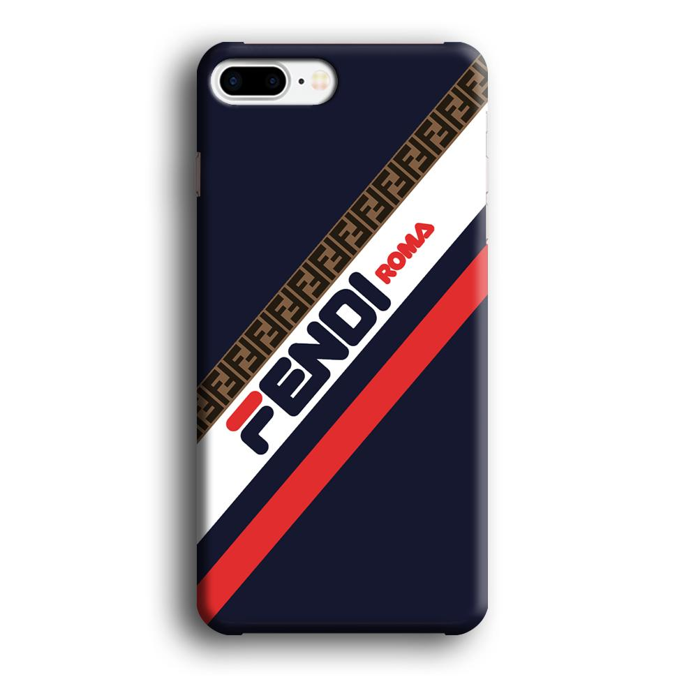 Fendi Stripe Mania iPhone 7 Plus 3D coque custodia fundas