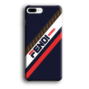 Fendi Stripe Mania iPhone 8 Plus 3D coque custodia fundas