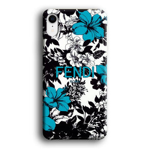 Fendi Taste of Tropical iPhone XR 3D coque custodia fundas