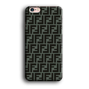 Fendi Teal Form iPhone 6 Plus | 6s Plus 3D coque custodia fundas