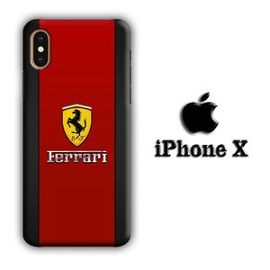 Ferrari Destiny of Voyage iPhone X 3D coque custodia fundas