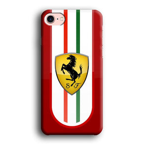 Ferrari Extension of History iPhone 7 3D coque custodia fundas
