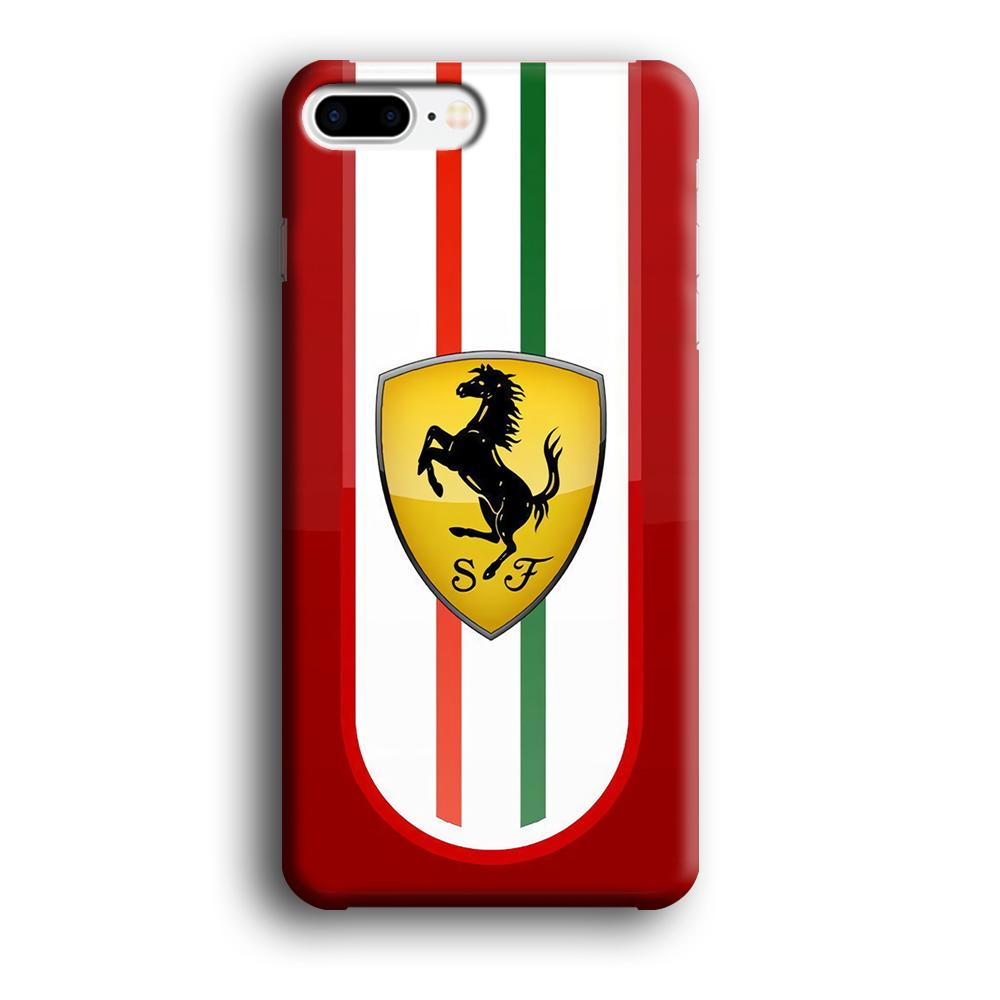 Ferrari Extension of History iPhone 8 Plus 3D coque custodia fundas