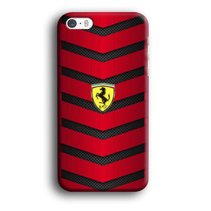 Ferrari Red Metallic iPhone 5 | 5s 3D coque custodia fundas