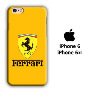 Ferrari Yellow Backdrop iPhone 6 | 6s 3D coque custodia fundas