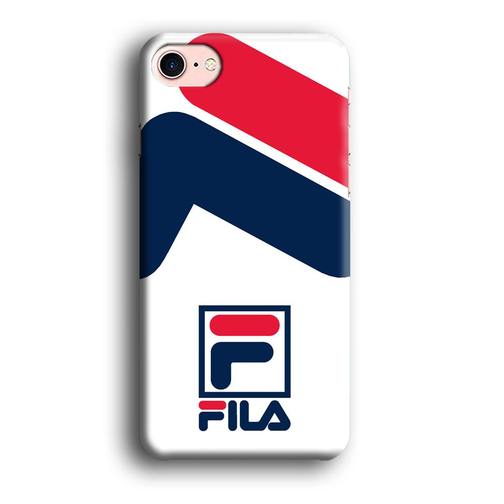 Fila Bold Stamp iPhone 7 3D coque custodia fundas