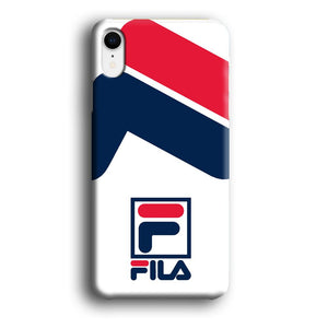 Fila Bold Stamp iPhone XR 3D coque custodia fundas