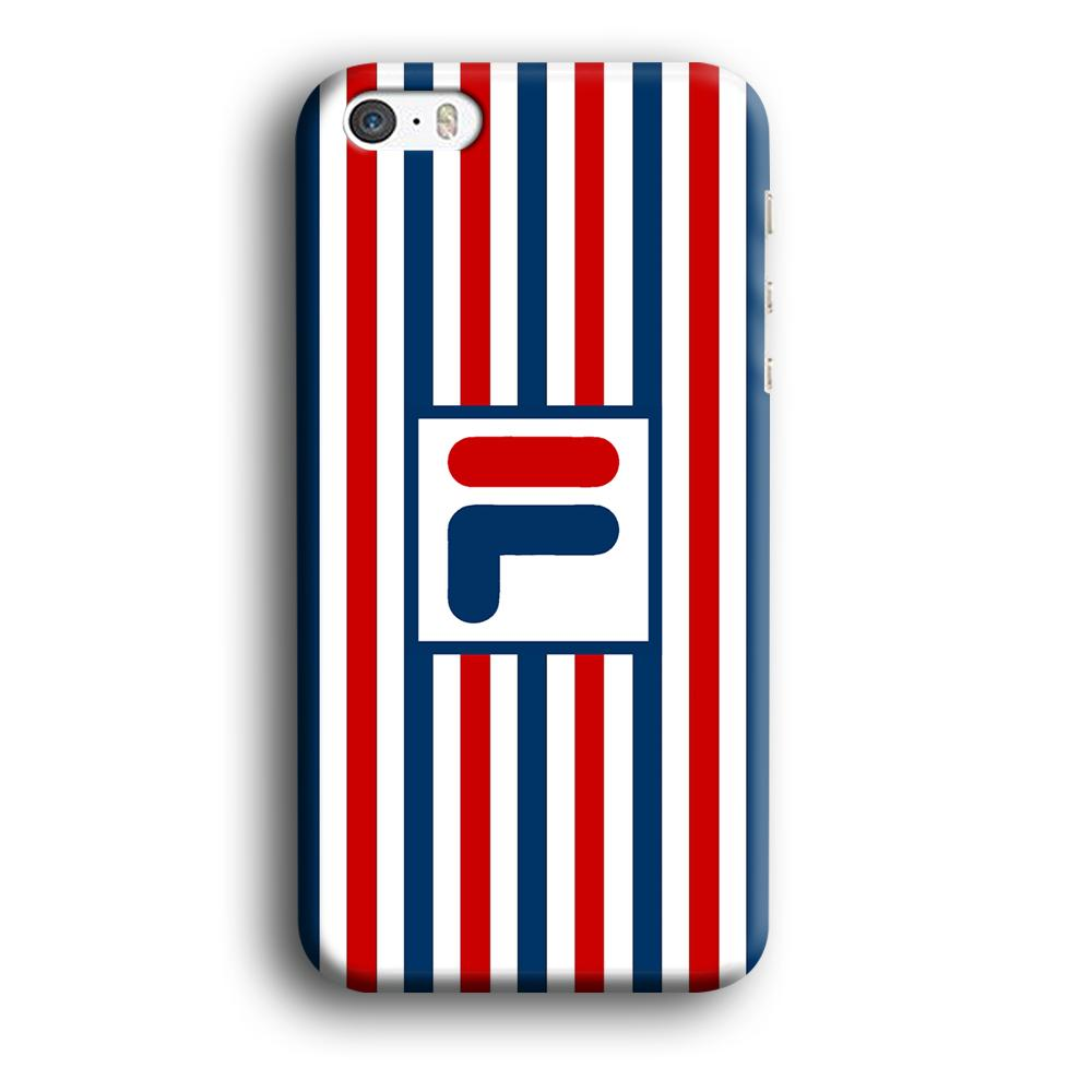 Fila Logo Bars iPhone 5 | 5s 3D coque custodia fundas