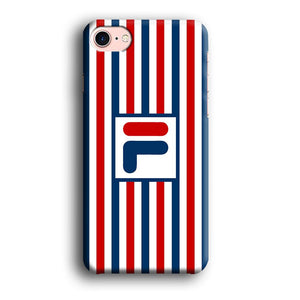 Fila Logo Bars iPhone 8 3D coque custodia fundas