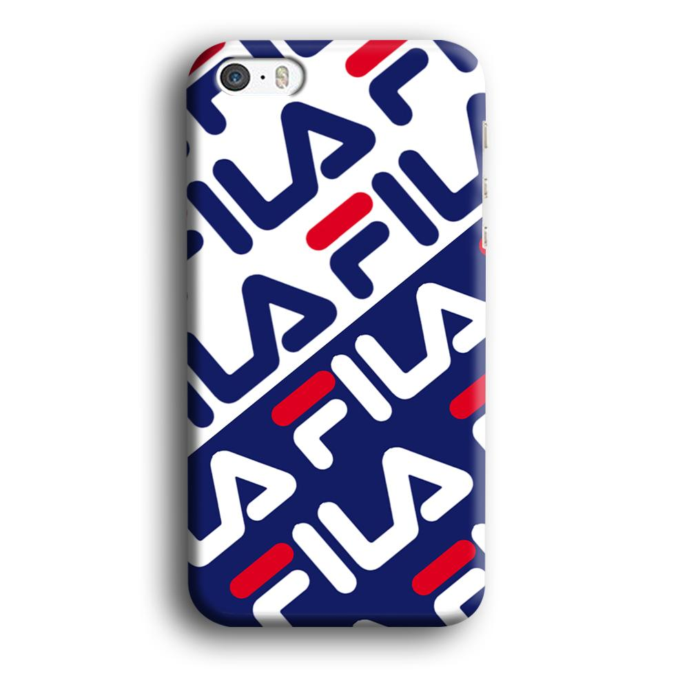 Fila Patern in Slope iPhone 5 | 5s 3D coque custodia fundas