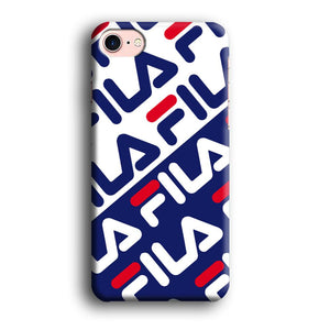 Fila Patern in Slope iPhone 7 3D coque custodia fundas