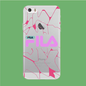 Fila Pink Expert coque iPhone 5 | 5s Clear