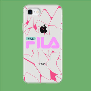 Fila Pink Expert coque iPhone 8 Clear