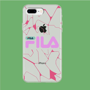Fila Pink Expert iPhone 8 Plus Clear coque custodia fundas
