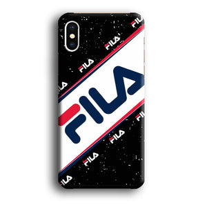 Fila Promenade of Heritage iPhone Xs 3D coque custodia fundas