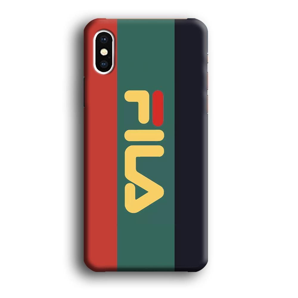 Fila Retro Line iPhone Xs Max 3D coque custodia fundas