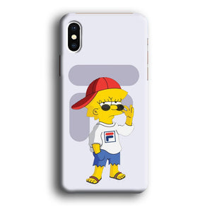 Fila by Lisa iPhone X 3D coque custodia fundas