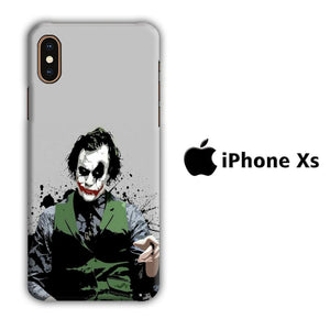 Film Batman Jocker iPhone Xs 3D coque custodia fundas