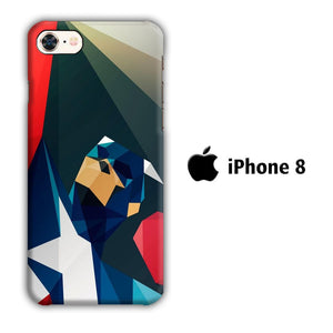 Film Capt America iPhone 8 3D coque custodia fundas