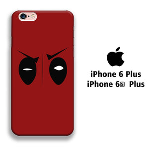 Film Deadpool Eye iPhone 6 Plus | 6s Plus 3D coque custodia fundas