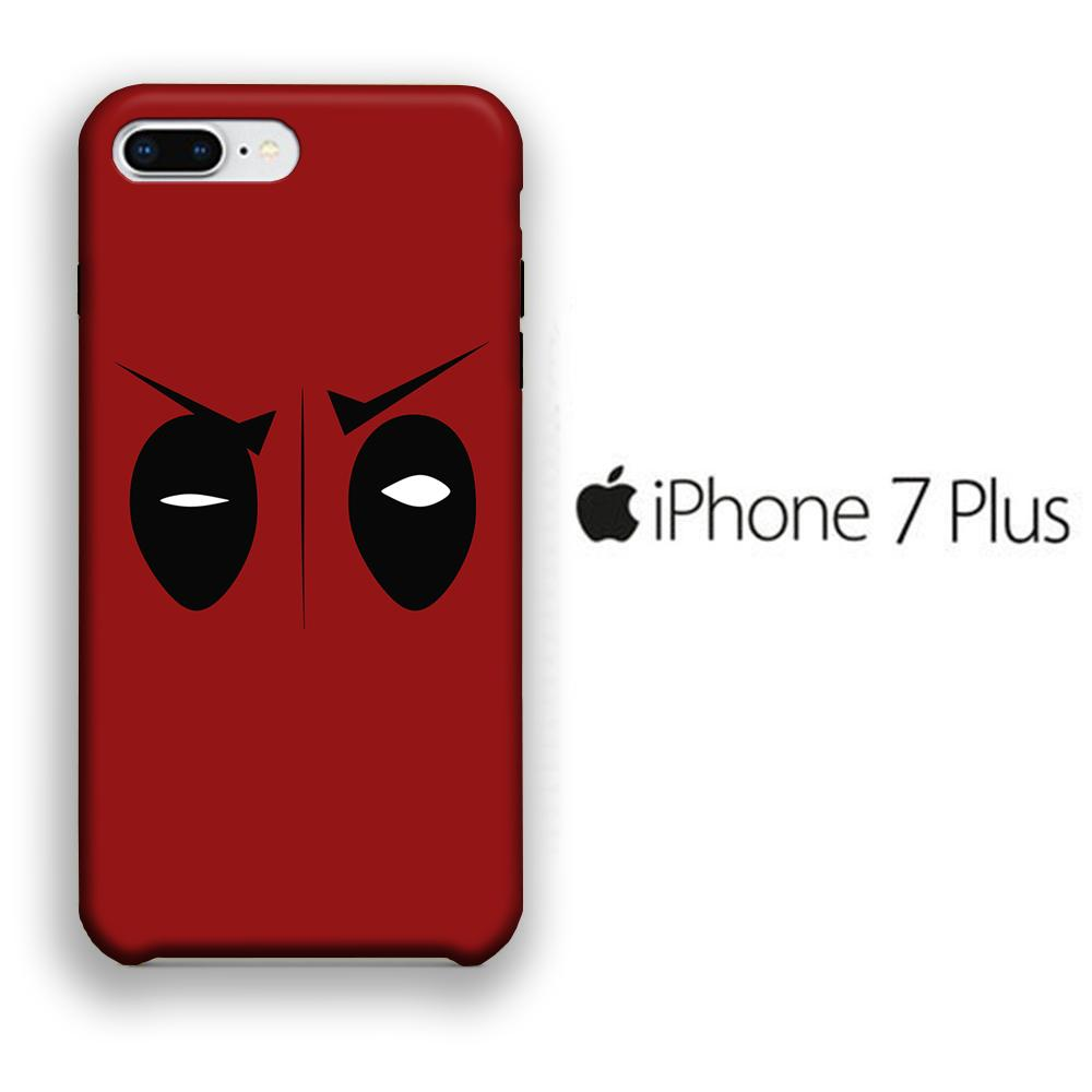 Film Deadpool Eye iPhone 7 Plus 3D coque custodia fundas