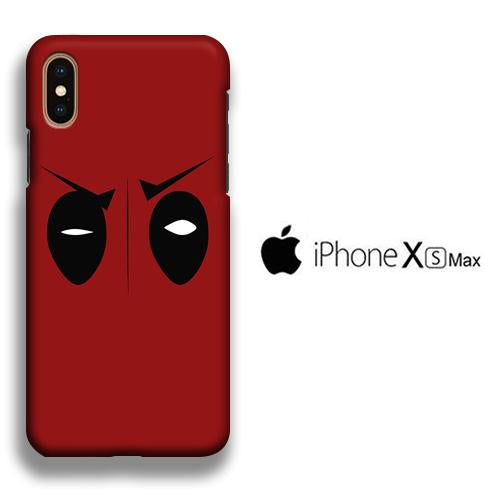 Film Deadpool Eye iPhone Xs Max 3D coque custodia fundas