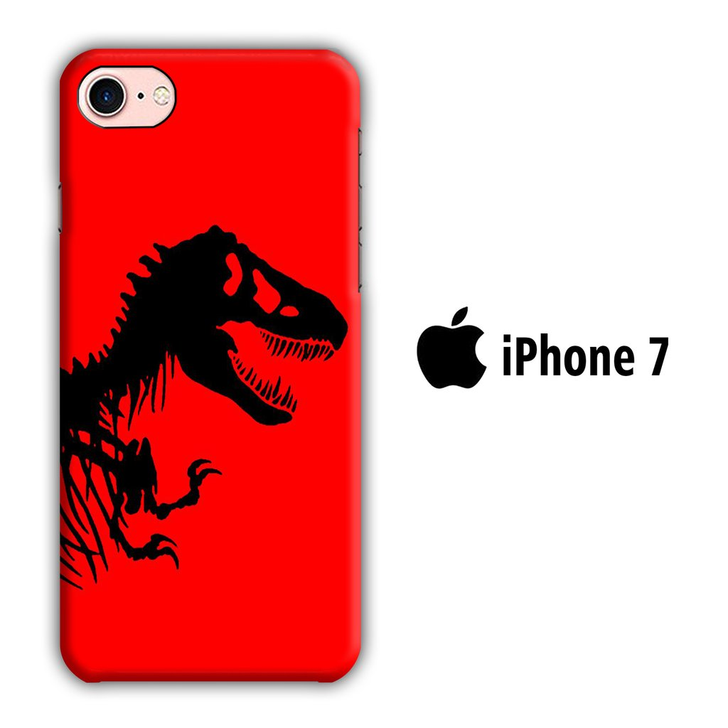 Film Jurrasic Park 003 iPhone 7 3D coque custodia fundas