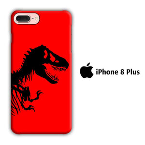 Film Jurrasic Park 003 iPhone 8 Plus 3D coque custodia fundas