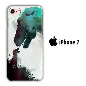 Film Jurrasic Park iPhone 7 3D coque custodia fundas