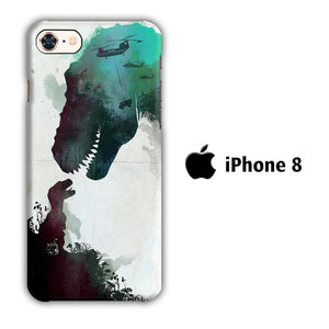 Film Jurrasic Park iPhone 8 3D coque custodia fundas
