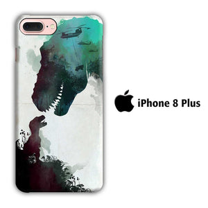 Film Jurrasic Park iPhone 8 Plus 3D coque custodia fundas