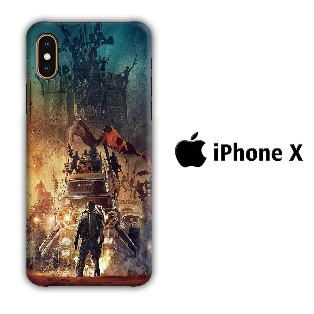 Film Mad Max iPhone X 3D coque custodia fundas