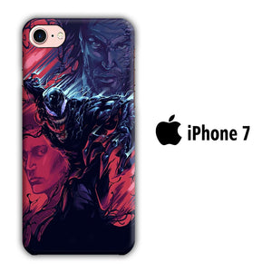 Film Venom iPhone 7 3D coque custodia fundas
