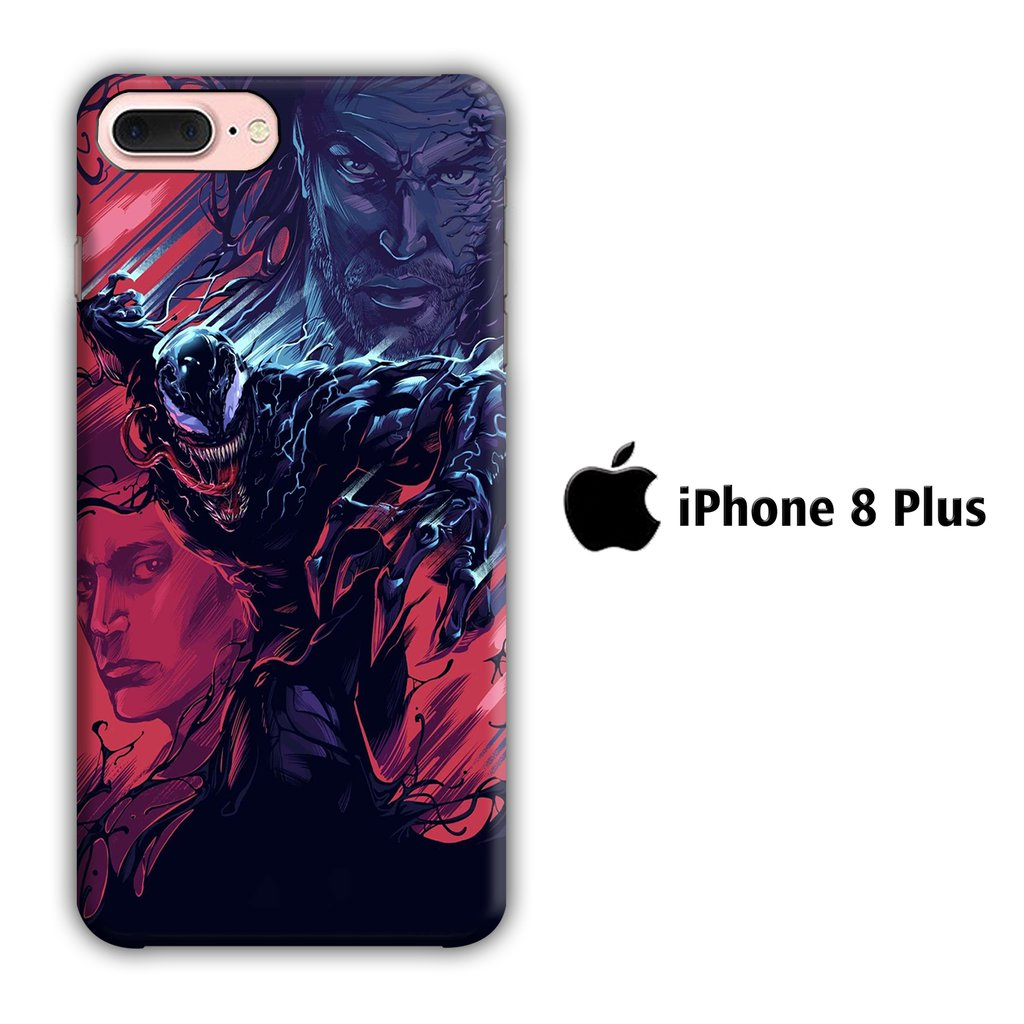Film Venom iPhone 8 Plus 3D coque custodia fundas