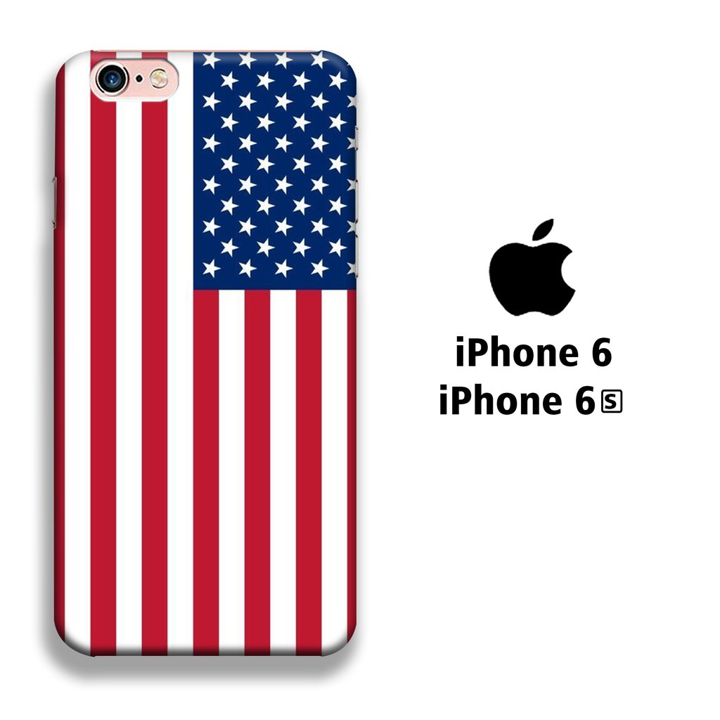 Flag America Original iPhone 6 | 6s 3D coque custodia fundas