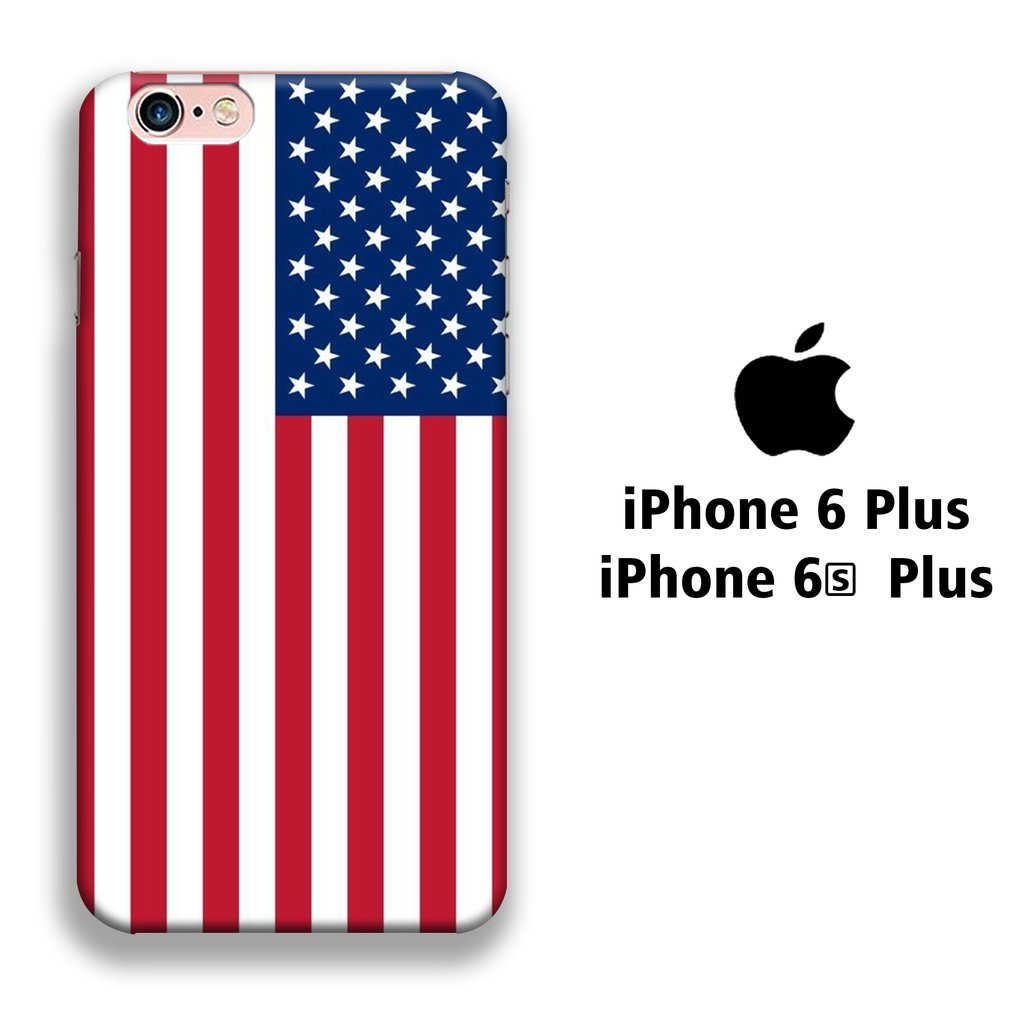 Flag America Original iPhone 6 Plus | 6s Plus 3D coque custodia fundas