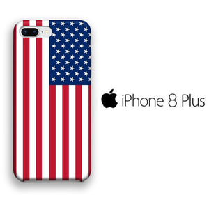 Flag America Original iPhone 8 Plus 3D coque custodia fundas