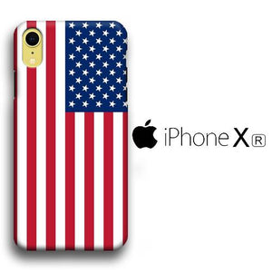 Flag America Original iPhone XR 3D coque custodia fundas
