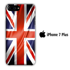 Flag of Great Britain 002 iPhone 7 Plus 3D coque custodia fundas