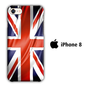 Flag of Great Britain 002 iPhone 8 3D coque custodia fundas