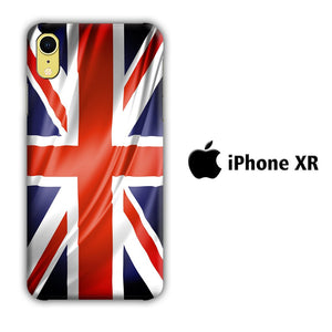 Flag of Great Britain 002 iPhone XR 3D coque custodia fundas