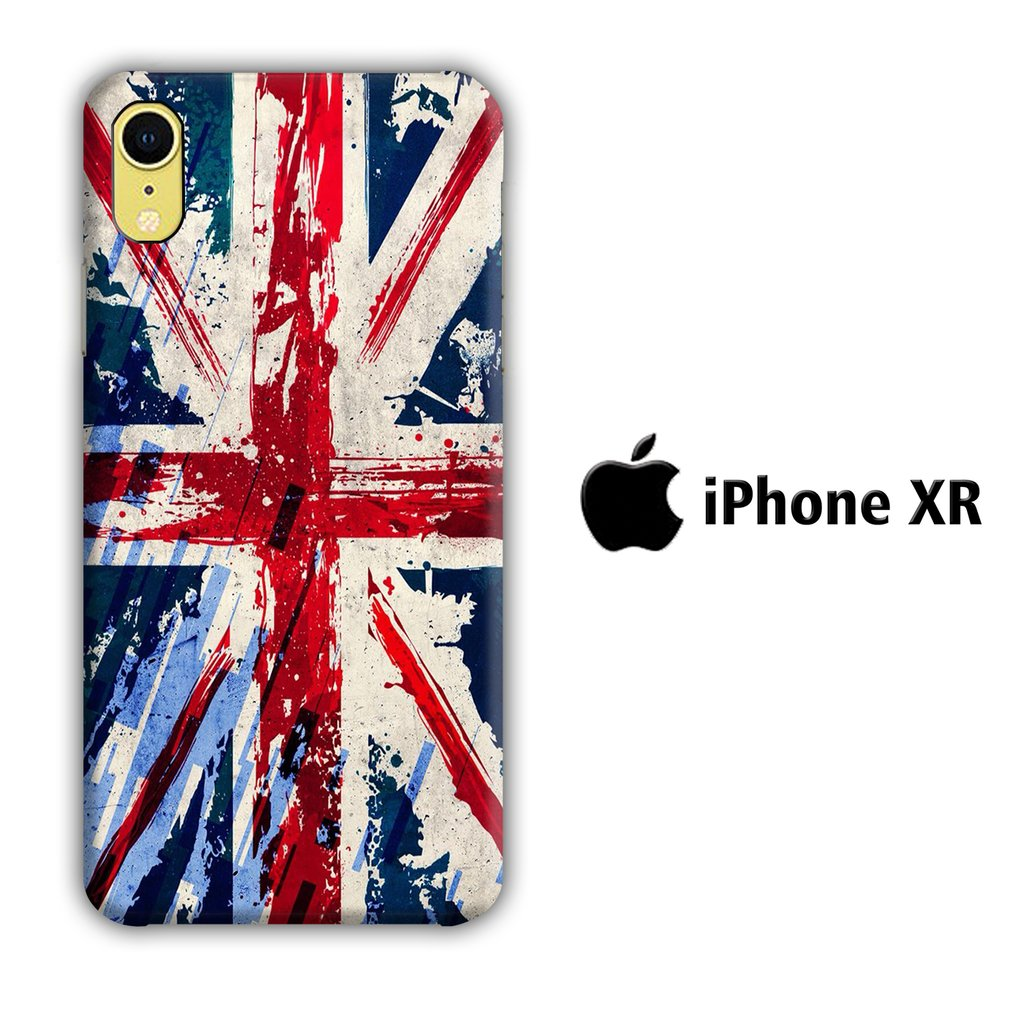 Flag of Great Britain iPhone XR 3D coque custodia fundas