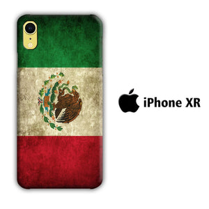 Flag of Mexico 002 iPhone XR 3D coque custodia fundas
